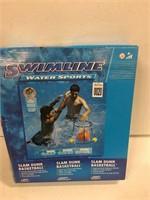 SWIMLINE WATER SPORTS  SLAMDUNK BASKETBALL