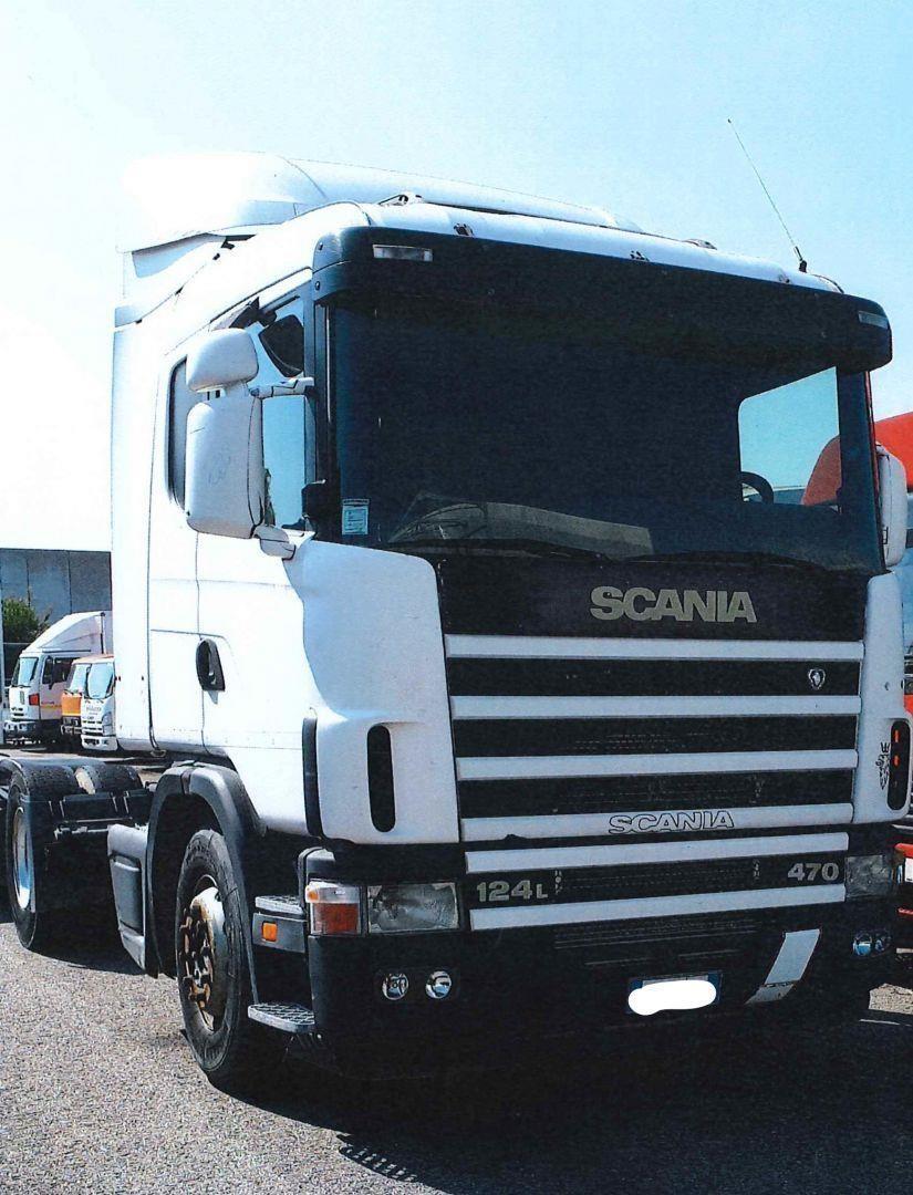 Scania R124.470 Usato