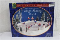 Village skating pond music and movement, battery