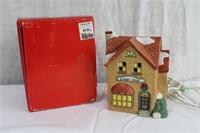 "Christmas house ""Sweet Shop"" 5.5 X 4 X 6.5""H"