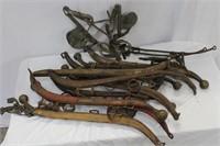 Horse Hames and blinder bridle