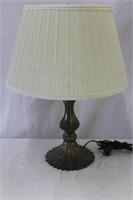 """Metal base table lamp 19""""H"""