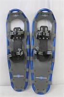 L.L. Bean pair of winter walker snow shoes