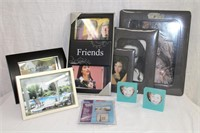 Collection of photo frames and magnetic photo