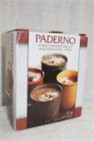 Paderno 4 piece stoneware mug set