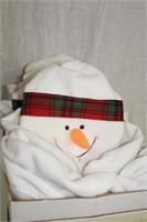 6 Snowman chair covers