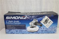 "Simoniz 7"" right angle polisher/sander"