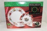Holiday Joy Collectibles 20 piece porcelain