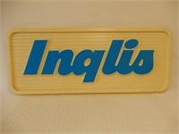INGLIS S/S PLASTIC EMBOSSED DISPLAY SIGN