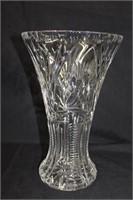 "12.25"" Crystal vase"