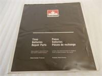 PETRO CANADA TIRES, BATTERIES REPAIR PARTS MANUAL