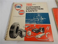 LOT OF FINA  MANUALS, PRICE LISTS & GUIDES