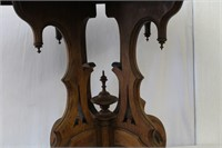 """Oval Victorian parlor table 41 X 28.75 X 30.5""""H"""