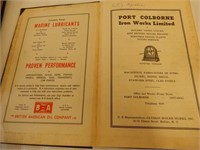 LOT OF 3-  MARINE, CONSERVATION & ROAD BOOKS