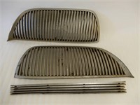 1938 DODGE 3 PIECE GRILL- COMPLETE