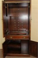 Strathroy Cherry entertainment cabinet