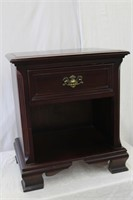 Gibbard solid mahogany one drawer over open