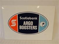 SCOTIABANK ARGO BOOSTERS S/S PLEXIGLASS SIGN