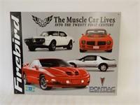 """PONTIAC FIREBIRD  GM """"MUSCLE CAR LIVES"""" SST SIGN"""