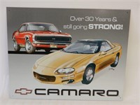 """CAMARO """"30 YEARS & STILL GOING STRONG"""" SST SIGN"""