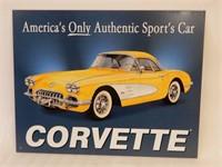 CHEVY CORVETTE (1958) SST SIGN