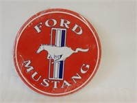 FORD MUSTANG EMBOSSED SST SIGN