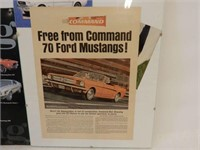 LOT OF 2 MUSTANG COLLECTIBLES