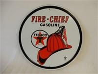 TEXACO FIRE-CHIEF GASOLINE SIGN