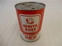 WHITE ROSE 10W30 MOTOR OIL LITRE FIBRE CAN