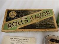 VINTAGE ROLLS RAZOR IMPERIAL NO. 2 / BOX
