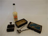 LOT OF 3 BARBER SHOP COLLECTIBLES