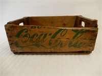 BUVEY COCA-COLA WOODEN CRATE