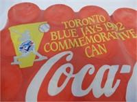1992 BLUE JAYS COMMEMORATIVE CANS - COMPLETE CASE