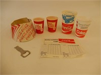 GROUPING OF COCA-COLA COLLECTIBLES