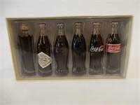 EVOLUTION OF COCA-COLA CONTOUR BOTTLES BOX'D SET