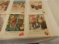 LOT OF 23 COCA-COLA & COKE PAPER ADVERTISING