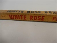 WHITE ROSE PETROLEUM PRODUCTS SQUARE YARD STICK