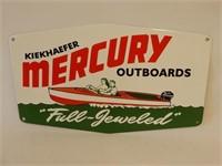 KIEKHAEFER MERCURY OUTBOARD S/S METAL SIGN