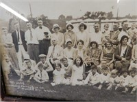 FRAMED 1931 MOUNT DENNIS BUSINESS PARK PHOTOGRAPH