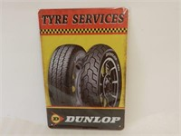 DUNLOP TYRE SERVICES SST SIGN