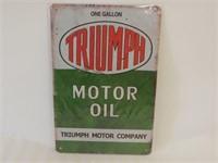 TRIUMPH MOTOR OIL SST SIGN