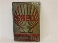 SHELL MOTOR OIL SST SIGN