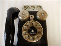LINEMAR BLACK COIN TELEPHONE TOY