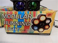 LOT OF 2 MODULAR RUNNING LIGHTS / BOXES