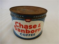CHASE & SANBORN COFFEE ONE POUND CAN