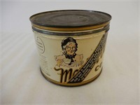 MOTHER PARKER'S ONE POUND COFFEE TIN