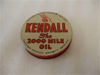 LOT OF SMALL OILERS + KENDALL OIL BOTTLE CAP