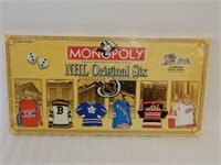 MONOPOLY NHL ORIGINAL SIX COLLECTOR'S EDITION