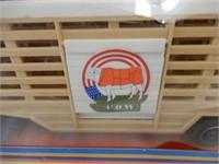 MATTEL HOT WHEELS CATTLE TRANSPORT / BOX