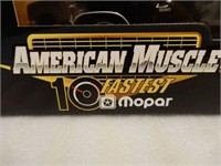 ERTL AMERICAN MUSCLE 1969 DODGE CHARGER 500 MODEL